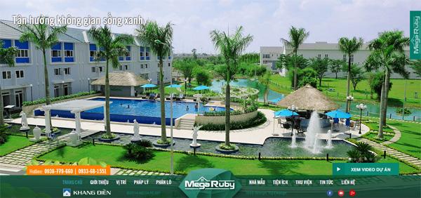 Mega Ruby Khang Điền biệt thự cao cấp liên kế sân vườn