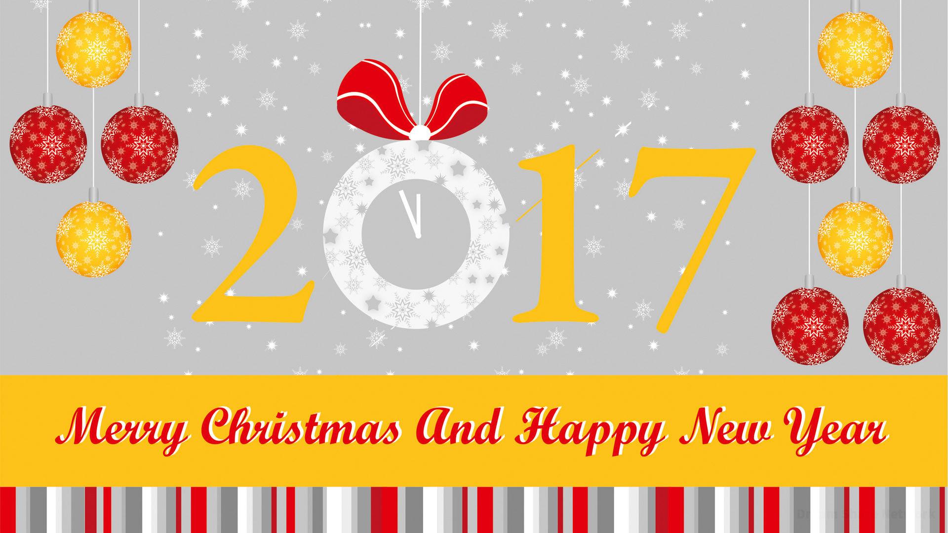 Bộ sưu tập hình nền chúc mừng năm mới 2017 đẹp nhất