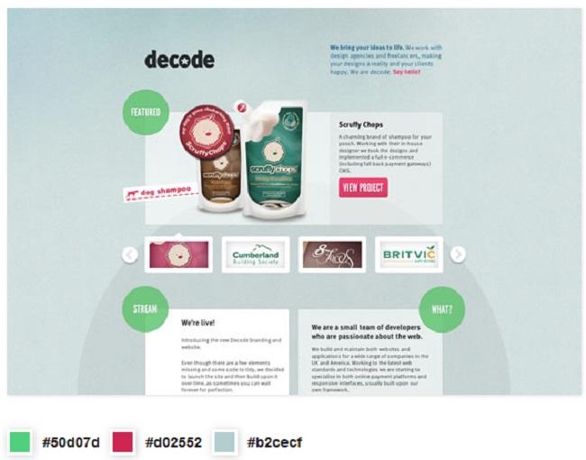 10 Ví dụ tuyệt vời về cách phối màu trong thiết kế website