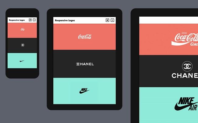 Các thiết kế Logo Responsive hiệu quả