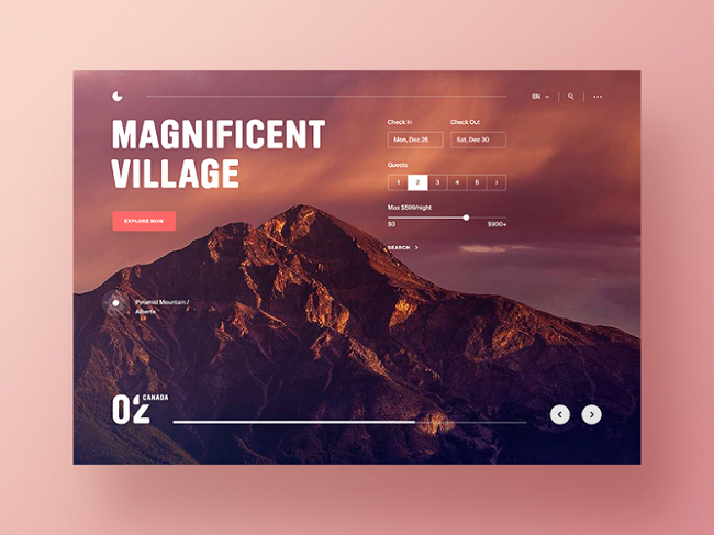 Top những thiết kế web, thiết kế app ấn tượng