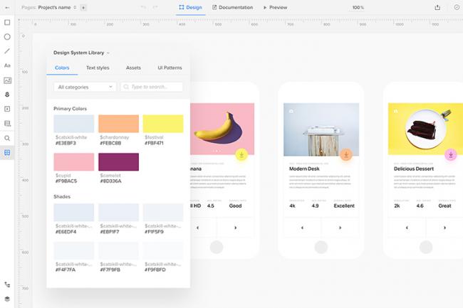 Những công cụ tạo mẫu thiết kế tốt cho năm 2018